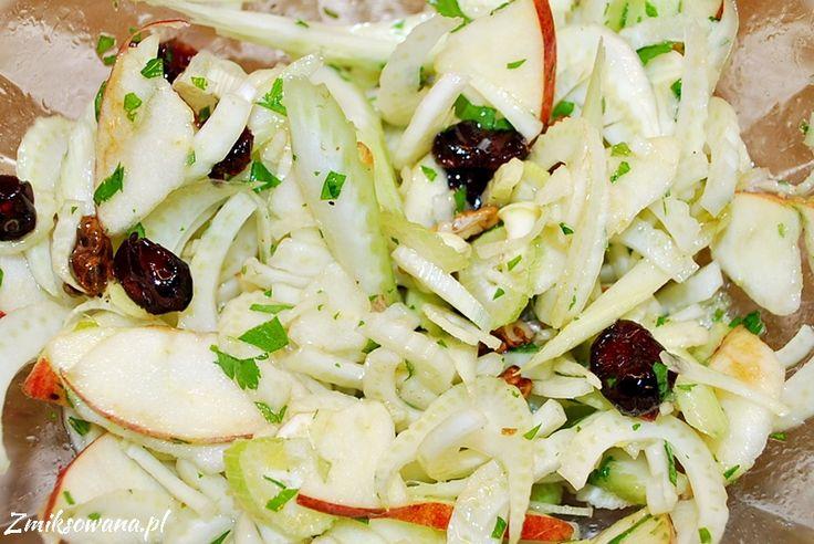 Zdrowa i chrupiąca surówka do obiadu :)