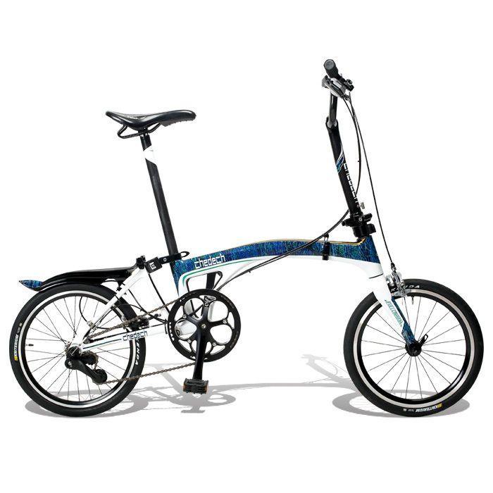 Get2Get Chedech Carbon Folding Bike Blue #Get2Get