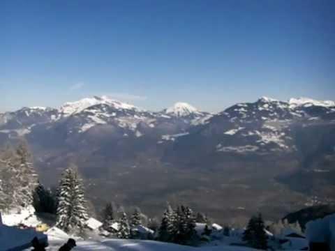 The futuristic Whitepod Camp, Swiss Alps