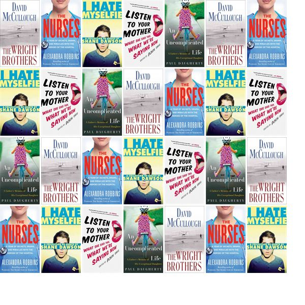 "Wednesday, May 6, 2015: The Sandown Public Library has four new bestsellers and one other new book in the Biographies & Memoirs section.   The new titles this week include ""The Wright Brothers,"" ""The Nurses: A Year with the Heroes Behind the Hospital Curtain,"" and ""I Hate Myselfie: A Collection of Essays by Shane Dawson."""