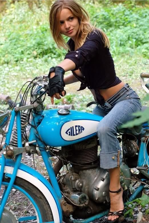 Girls on motorcycles Pics mainly - but comments now allowed. - Page 5 - Triumph Forum: Triumph Rat Motorcycle Forums