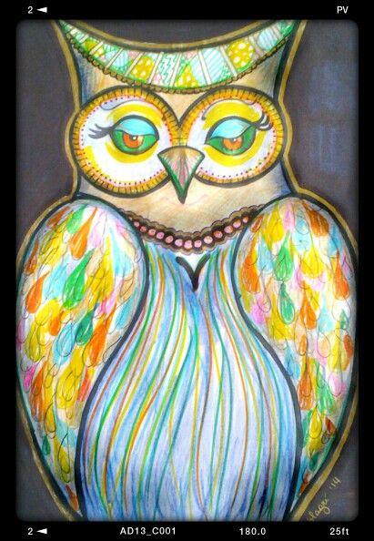 Owl - civetta - Valentina Magrì
