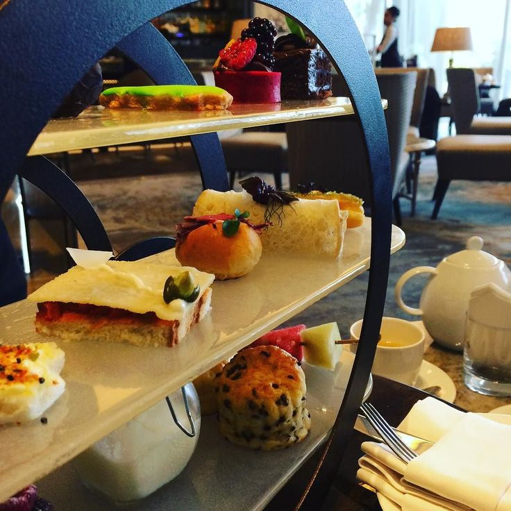 Festive Afternoon Tea @lobbylounge #afternoontea #delicious #christmastime