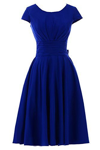 Sunvary Short Sleeves Bridesmaid Dress Evening Pageant Dress Short - US Size 2- Royal-blue Sunvary http://www.amazon.com/dp/B00CO2EISC/ref=cm_sw_r_pi_dp_xKV2tb1Y7JSMWVJW
