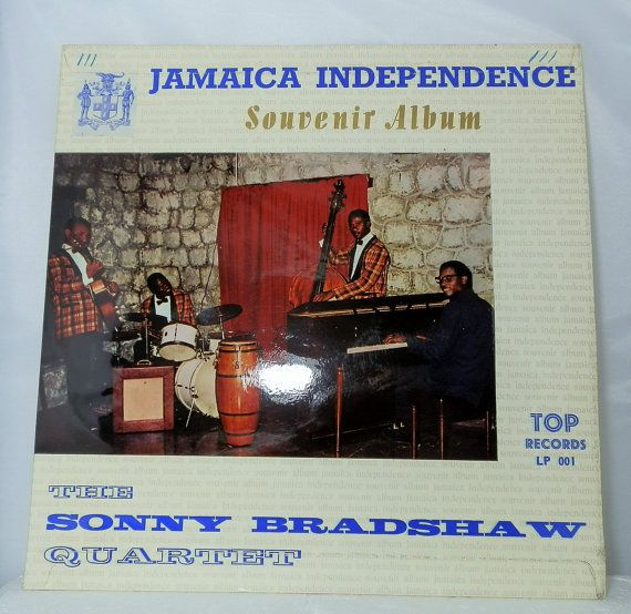 Vintage Vinyl LP Record Sonny Bradshaw Jamaica Independence Souvenir Islands Calypso Jazz LP Top UK Collectible Reggae DanPickedMinerals
