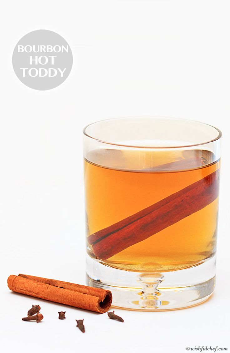 Spiced Bourbon Hot Toddy with Green Tea // wishfulchef.com