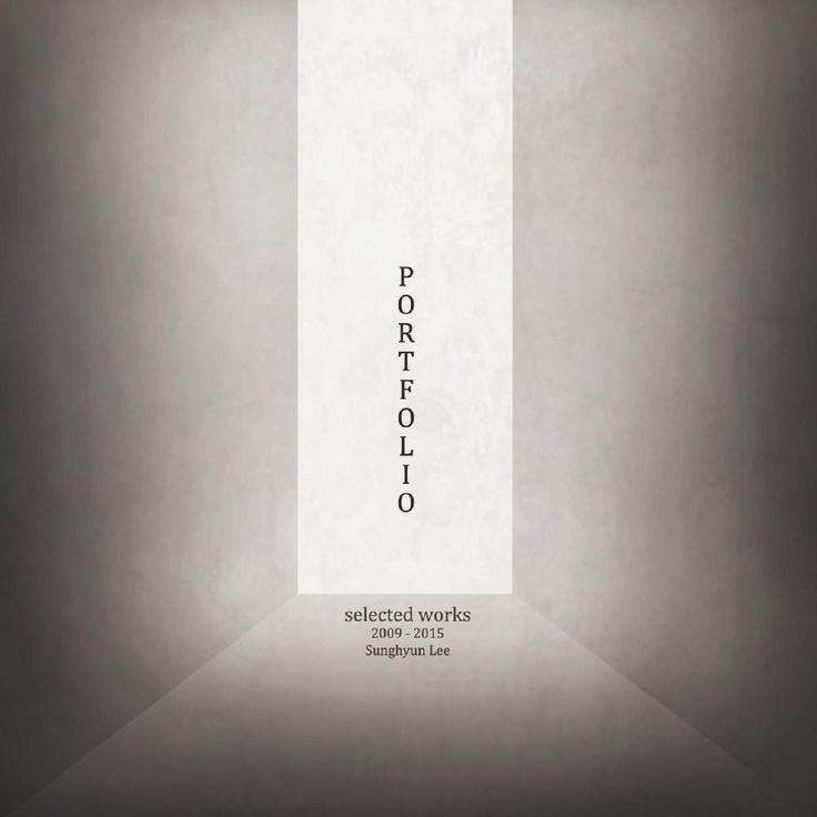 Architecture Portfolio 2015  Phillip Lee's works