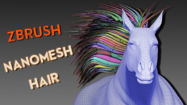 ZBrush Nanomesh Hair Technique