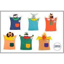 Títeres Muñecos Para Bebés -animales. Oferta!!!
