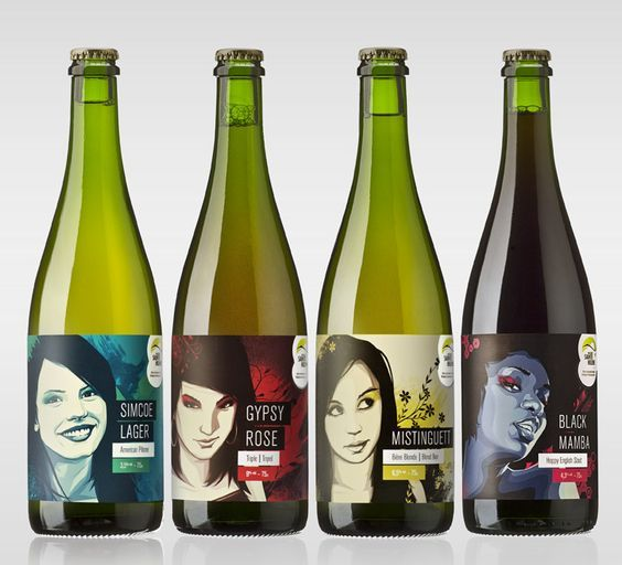 Beer that is packaged to appeal to women