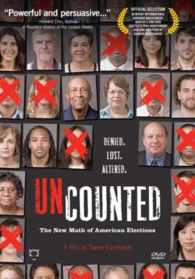 UNCOUNTED is an explosive documentary that shows how the election fraud that changed the outcome of the 2004 election led to even greater...WATCH NOW !