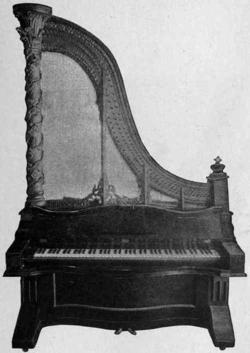 Chickering Upright Piano 1830
