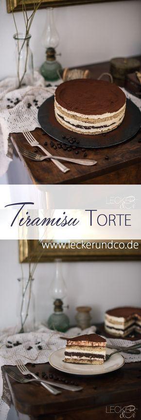 Tiramisu-Kuchen   – Torten