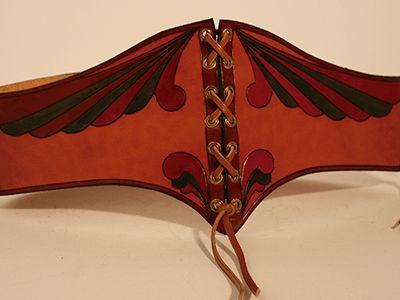 Cinturon #medieval #Cuero #Leather #cinturon