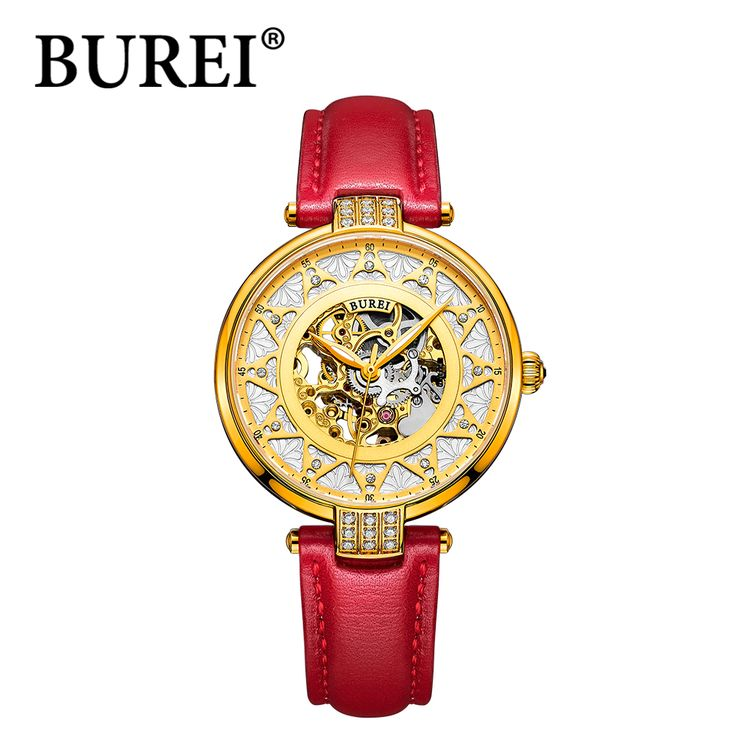 BUREI luxury brand mechanical watch woman leather bracelet waterproof sapphire mirror stainless steel automatic watches SL-15006 Nail That Deal http://nailthatdeal.com/products/burei-luxury-brand-mechanical-watch-woman-leather-bracelet-waterproof-sapphire-mirror-stainless-steel-automatic-watches-sl-15006/ #shopping #nailthatdeal