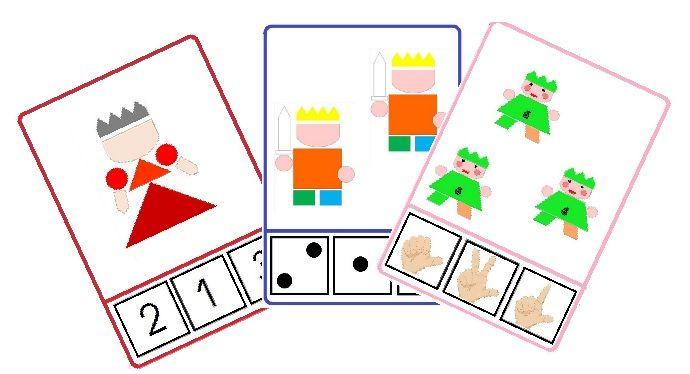 Les cartes à compter - Maitresse Lilie