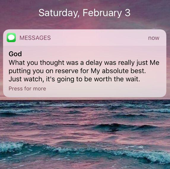I so hope. I'm on a major delay i feel.