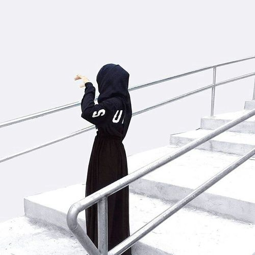 รูปภาพ beauty, black, and hijab