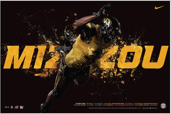 Missouri 2015 Football Poster 1