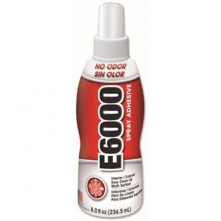 Pegamento E6000 en spray ideal para todo tipo de manualidades #diy #crafts #adhesivo #manualidades