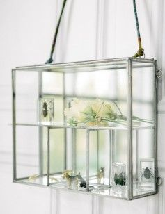 Glass Hanging Wall Cabinet image