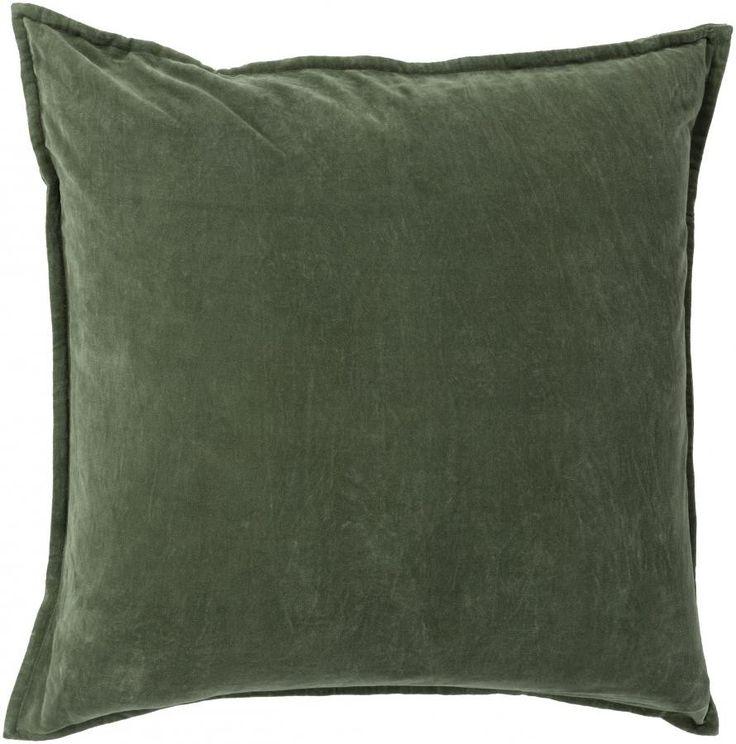 Maxen Pillow, Dark Moss