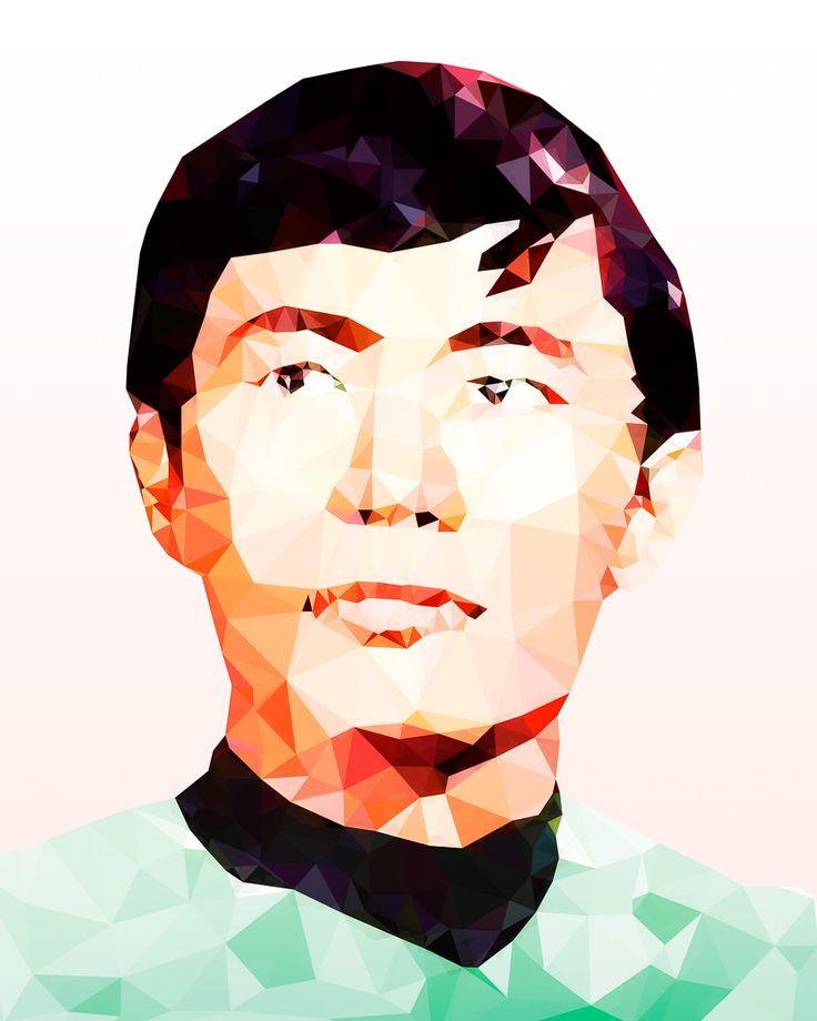 #Sulu from #StarTrek. 'Pilot' Fine Art Print