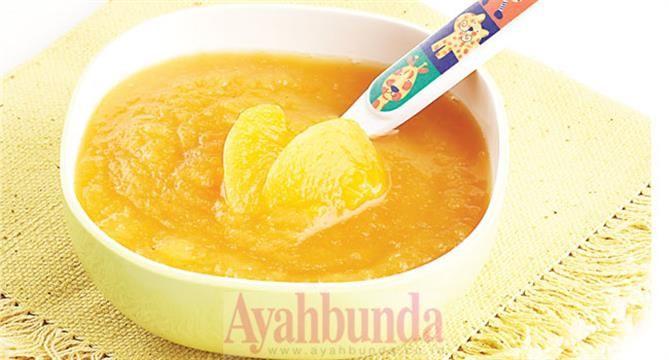 :: Bubur Susu Peach :: Resep Makanan Bayi :: Resep :: Ayahbunda :: Baby :: Recipe