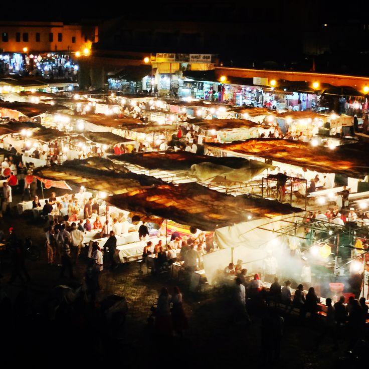 KINSA in  Morocco - Jamal al Fna, Marakech