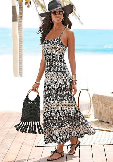 1f9f5316a3 St. Tropez Maxi Dress from LASCANA | French Riviera Fits | Summer ...