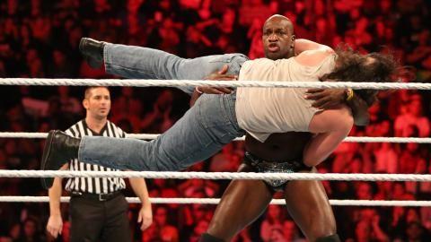 The Prime Time Players vs. Luke Harper & Braun Strowman: Raw, Sept. 28, 2015