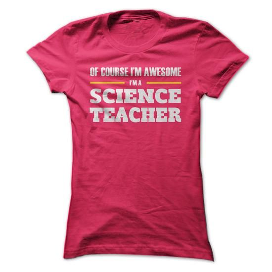 Make this awesome proud Teacher: Awesome SCIENCE TEACHER as a great gift job Shirts T-Shirts for Teachers