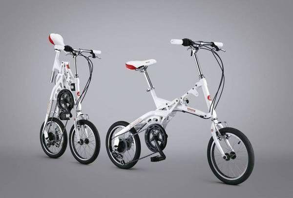 Converbike Toyota Breezer Folding Bike Collab Folding Bike Bike Folding Bicycle