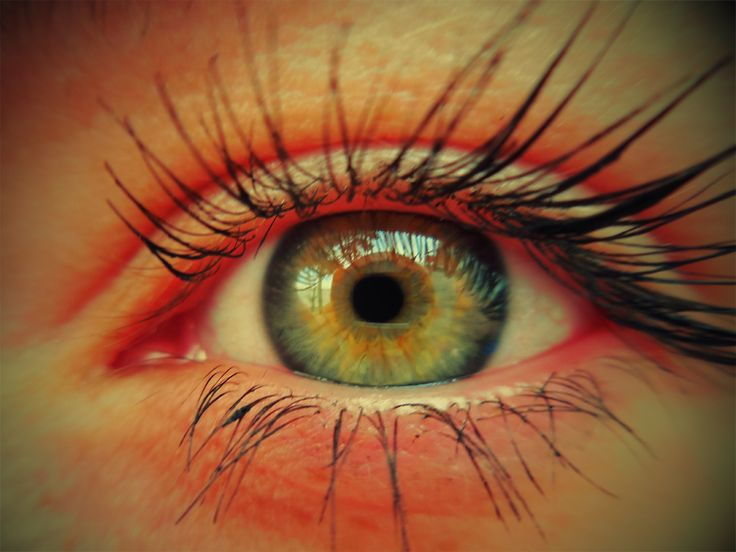 Eilin - left eye with toy camera effect