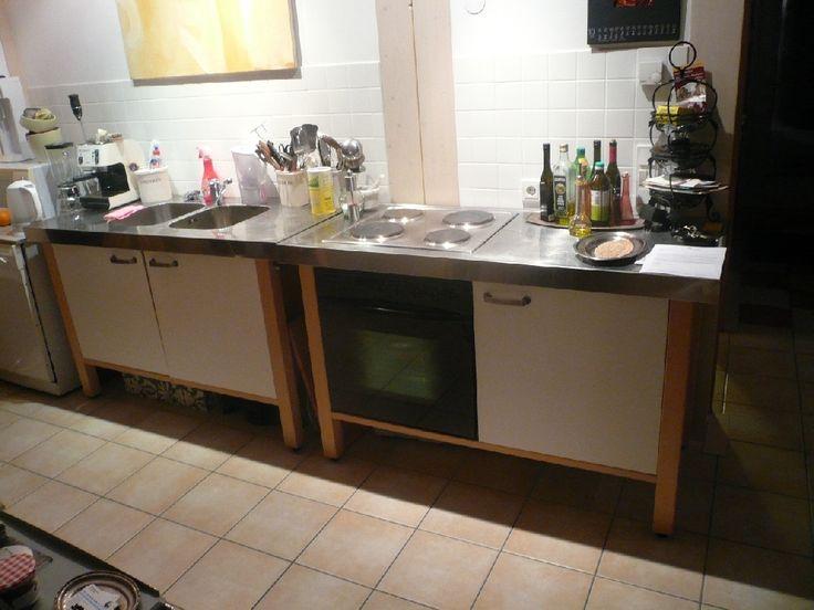 die 25+ besten ideen zu freistehende küche auf pinterest ... - Ikea Küche Metall