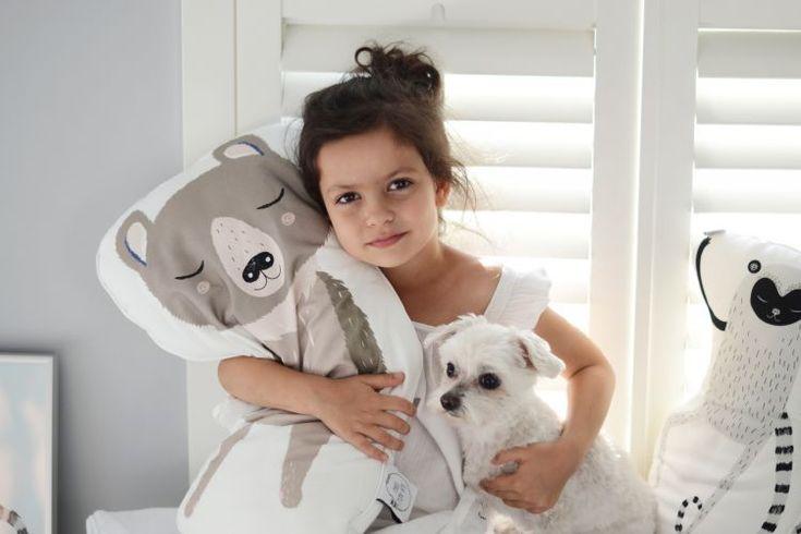 Idealne do przytulania – Poduszki MAKI MON AMI
