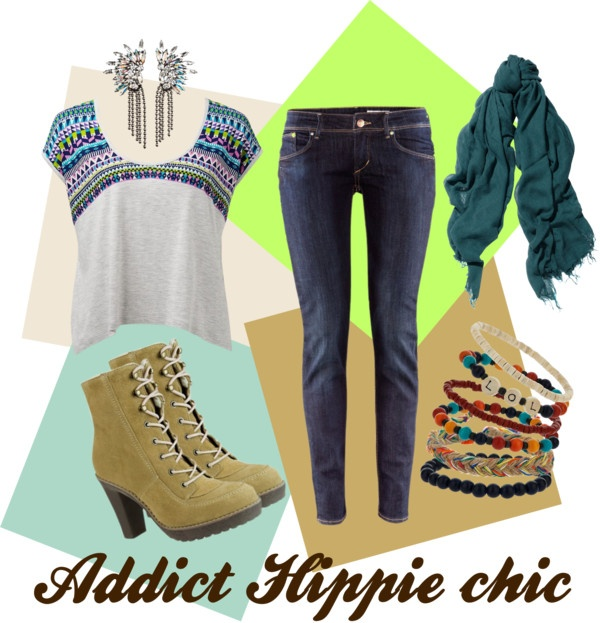 """Addict Hippie Chic"" by bosi-accesorios on Polyvore"