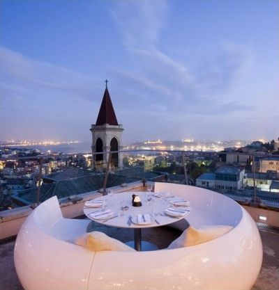 360 - Very posh place on Istiklal avenue but the view and the atmosphere worth visiting