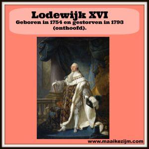 Lodewijk XVI  http://maaikezijm.com/2014/06/14/franse-revolutie-2/