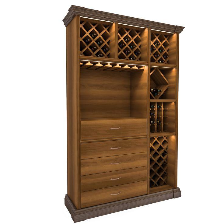 Винные шкафы для вина. Для хранения вина и украшения интерьера.