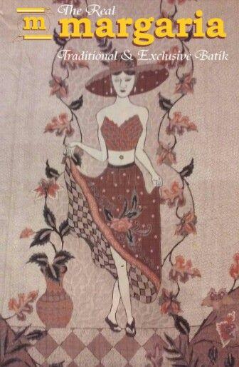 gadis pantai dalam batik Pekalongan