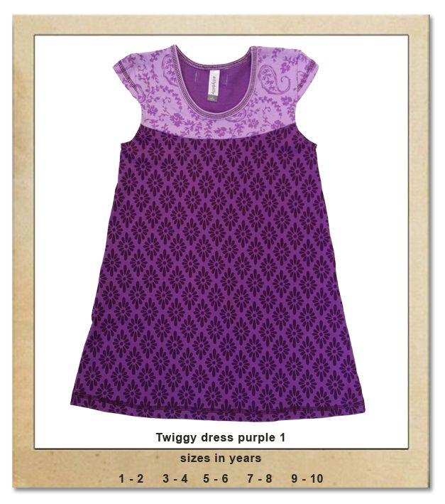 Sillybilly© clothing: Twiggy dress purple 1
