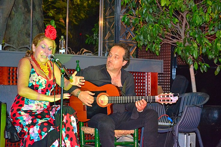 'Café Marbella' flamenco show in Marbella/ Spain