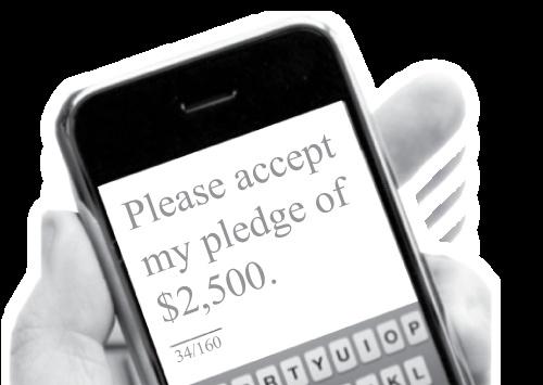 Text To Pledge