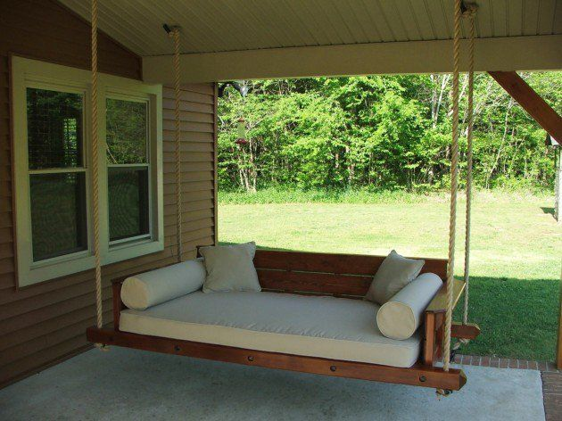17 Outstanding Handmade Porch Swing Designs