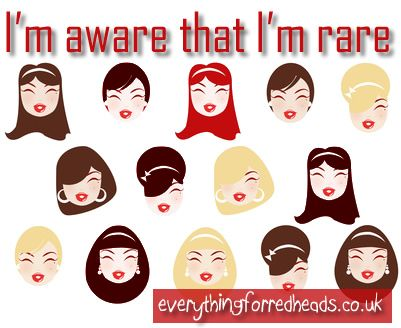Repeat after me... 'I'm aware that I'm RARE'