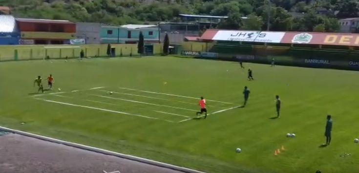 Circuito aerobico de fuerza, coordinación y técnica específica en Futbol
