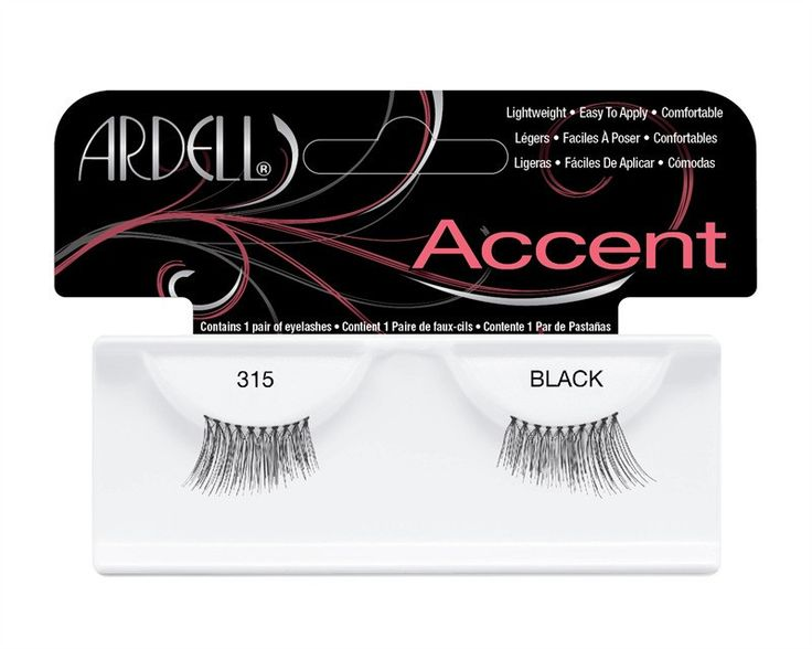 Ardell #315 Fashion Lashes Accent Black