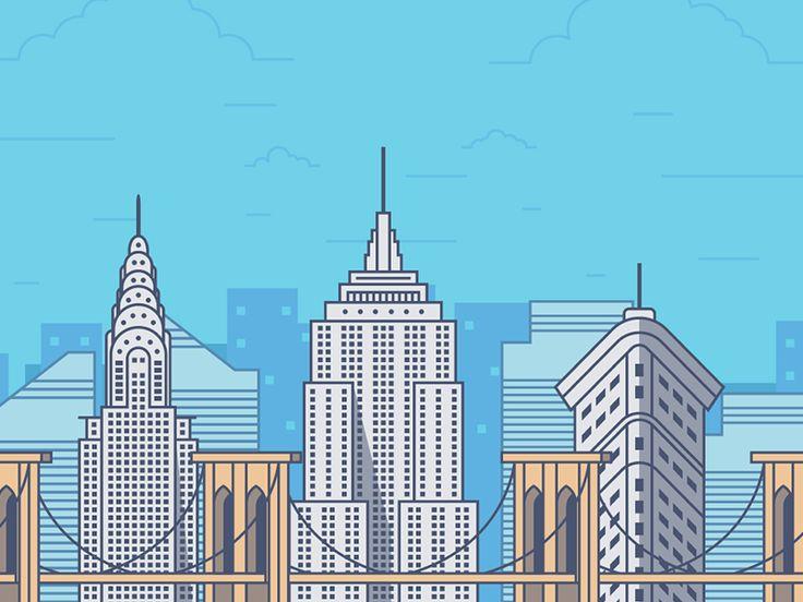 New york city by FireArt Studio
