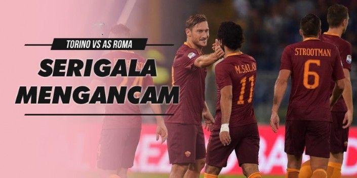 Prediksi Torino Vs AS Roma Liga Italia